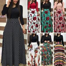 Plus Size, sleeve dress, Sleeve, Chiffon Dresses
