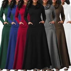 Plus Size, sleeve dress, Sleeve, long dress