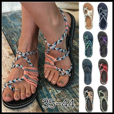 Summer, Sandals, Women Sandals, Lace