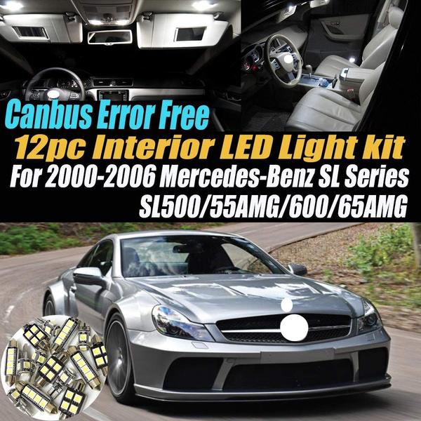 led, Cars, sl, amg