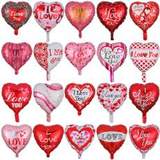 Heart, Decor, foilballoon, loveballoon