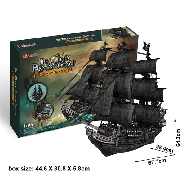 Toy, Gifts, piratesofthecaribbean, 3dshippuzzle
