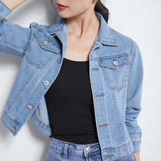 Casual Jackets, Fashion, Spring, denim jacket