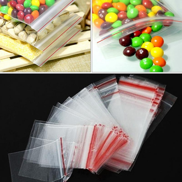 plasticpackage, Chain, reclosable, clearbag