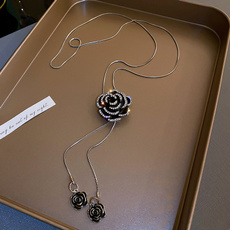 Flowers, Jewelry, Chain, Sweaters