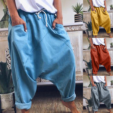 Women Pants, harem, Plus Size, Waist
