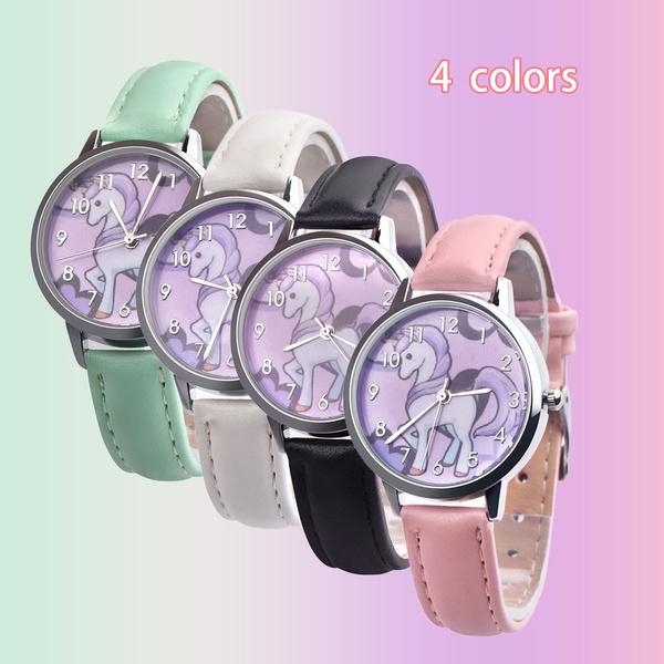 cute, quartz, fashion watches, leather