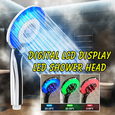 showersupplie, Head, bathroomshowerhead, ledshowerhead