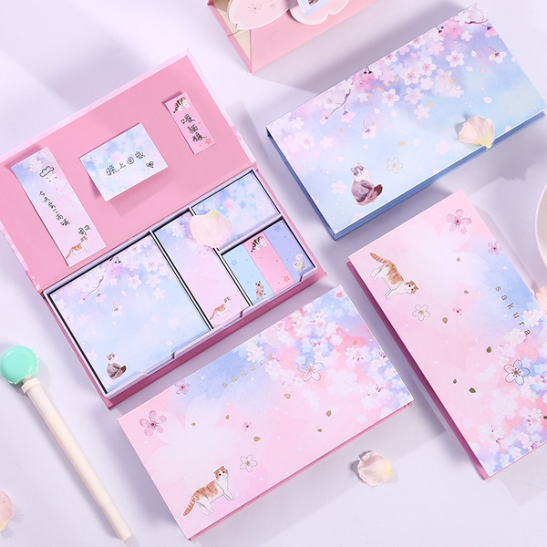 Box, cute, bookmarksticker, stickynote