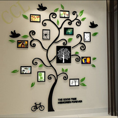 Home & Kitchen, 3dwallstickerswithphotoframe, Family, Crystal