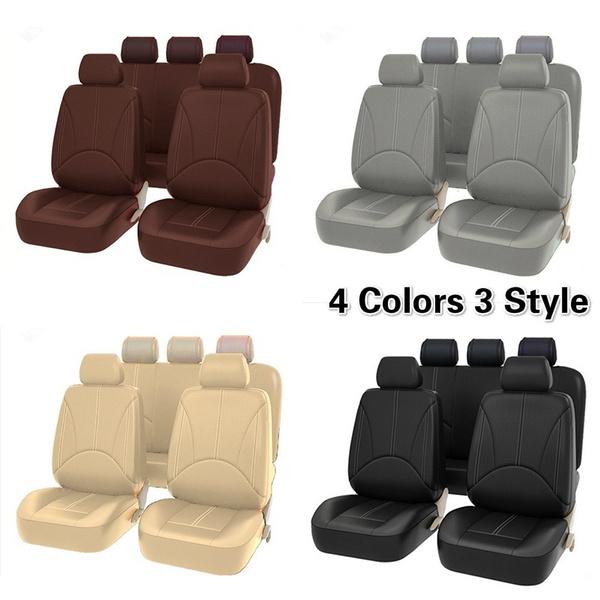 seatcoversforcar, carseatcoversset, leather, automotiveinterior