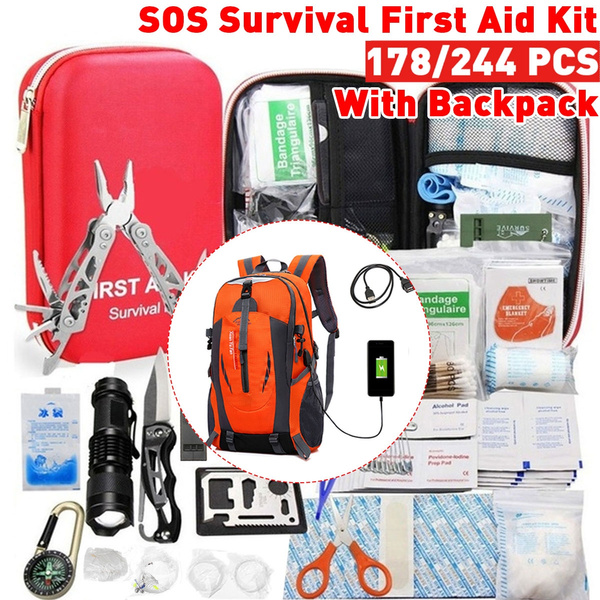 survival backpack, Outdoor, Hiking, campingsurvival