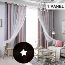 bedroomcurtain, Star, Home Decor, Colorful