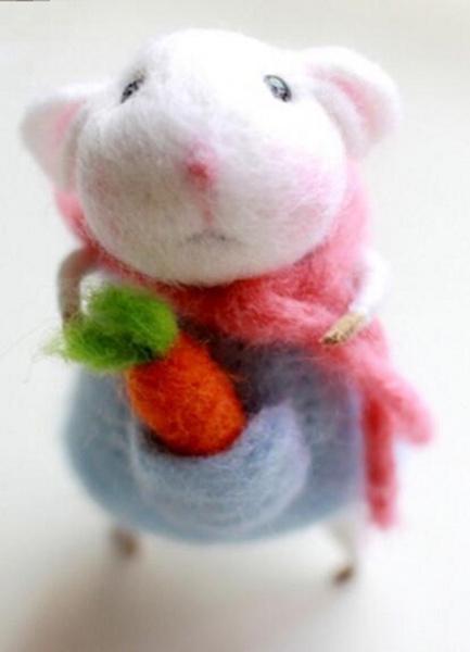 woolen, lovely, felting, Kit