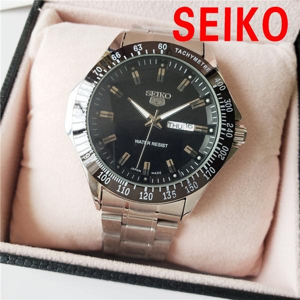 Steel, Fashion, Waterproof Watch, Clock