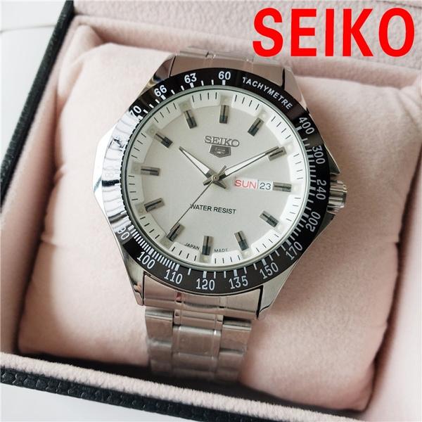 Steel, quartz, Waterproof Watch, Waterproof