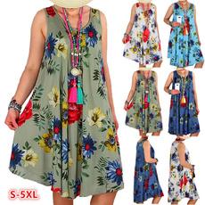 Swing dress, Plus Size, Floral, Swing