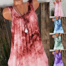 Summer, Plus Size, vest dress, sundress