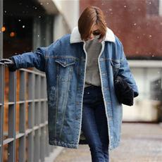 fleecelinedcoat, Jacket, Fleece, Fashion