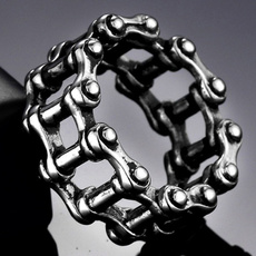 Steel, Goth, Fashion, Chain
