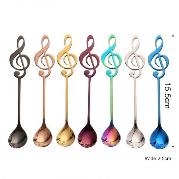 coffeespoon, rainbow, Coffee, stainlesssteelcoffeespoon