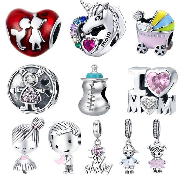 Charm Bracelet, gemstone jewelry, diyjewelry, Love