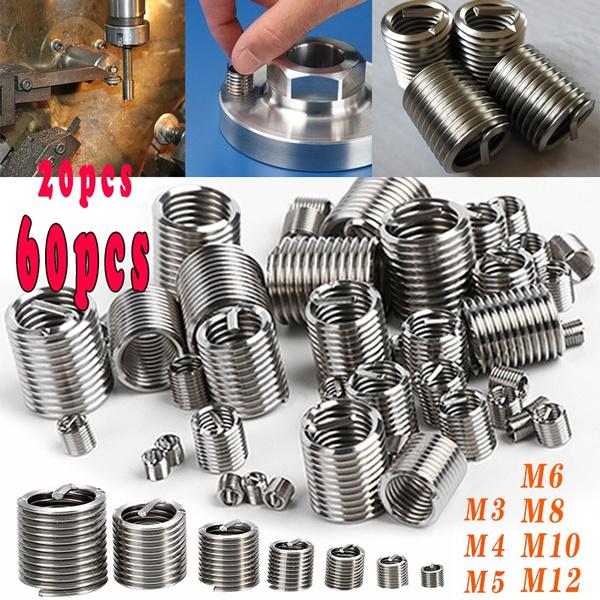 Steel, threadinsert, repairkit, Sleeve