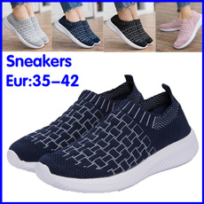 casual shoes, Sneakers, Plus Size, Knitting