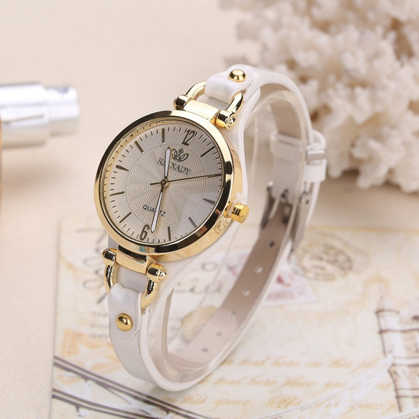 Fashion, leather strap, Bracelet Watch, wristwatch