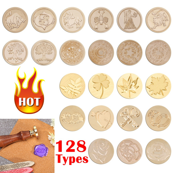 12constellation, weddingaccesory, sealingwaxstamp, Stamps
