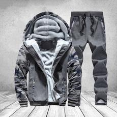 Fleece, Fashion, hooded, Winter