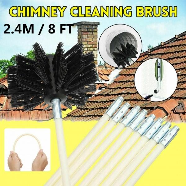 rotarybrushhead, chimneycleaningbrush, rotarychimneysweepbrush, chimneybrush