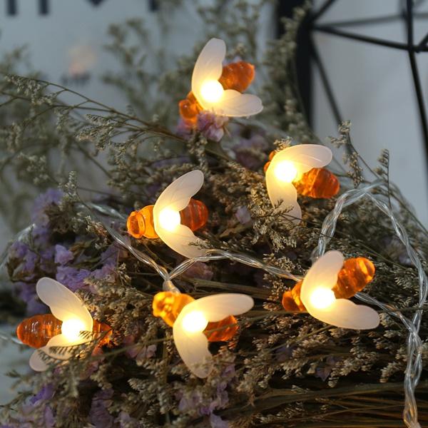 Outdoor, fairy, lights, ledstringlight