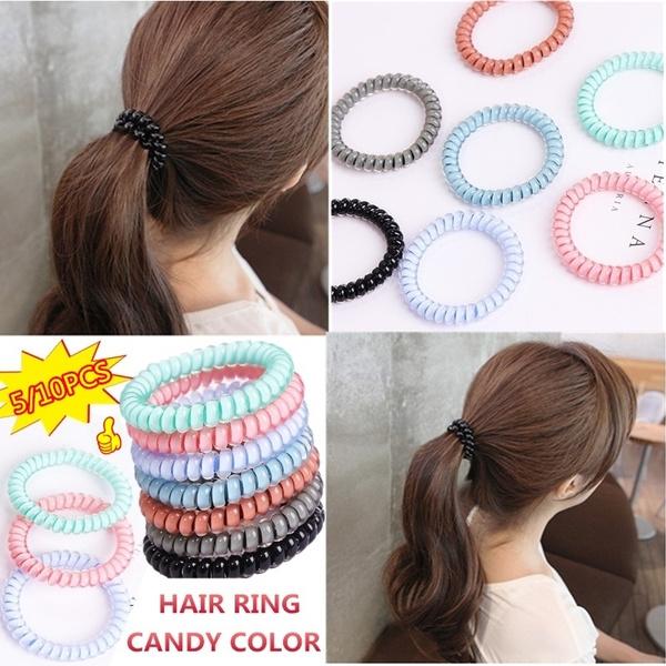 Rubber, Head, Elastic, candy color