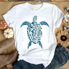 Turtle, Funny, Fashion, Cotton Shirt