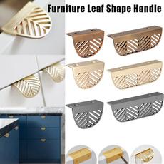 pullhandle, handlesknob, leaf, drawerknob