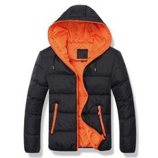 padded, men coat, hooded, Winter
