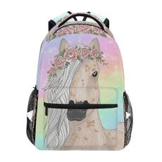Laptop Backpack, student backpacks, largecapacitybackpack, Flowers