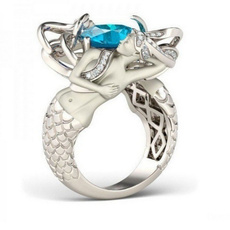 Sterling, Blues, Fashion, Jewelry