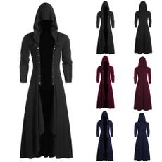 casual coat, steampunkcoat, Goth, Fashion