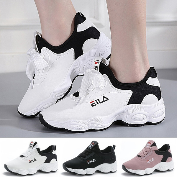 2020 Women Spring Leather Sneakers