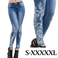 Blues, Leggings, trousers, Lace