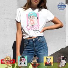 cute, Fashion, print t-shirt, Funny