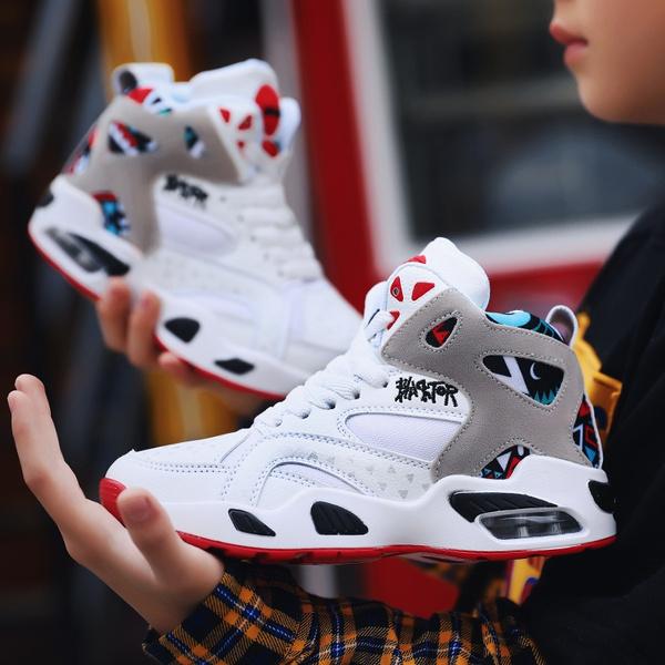 Fashion Boy Basketball Shoes, Kids