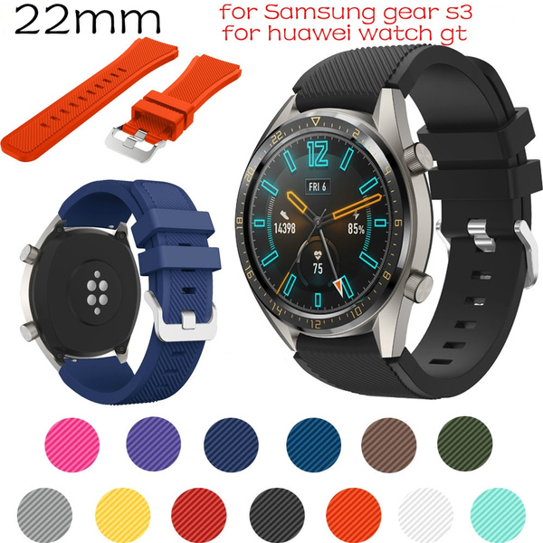 huaweigtwatchband, gears3strap, Silicone, Watch