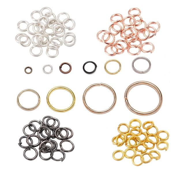 Jewelry, metalring, splitring, diy