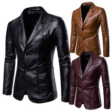leatherblazerformen, middleaged, menblazer, Blazer