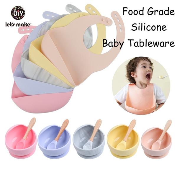 kids, babytablewareset, babysiliconespoon, siliconebowl