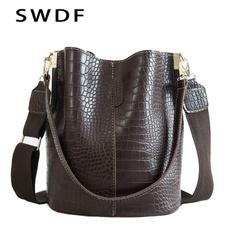 Shoulder Bags, Designers, bucketbag, leather