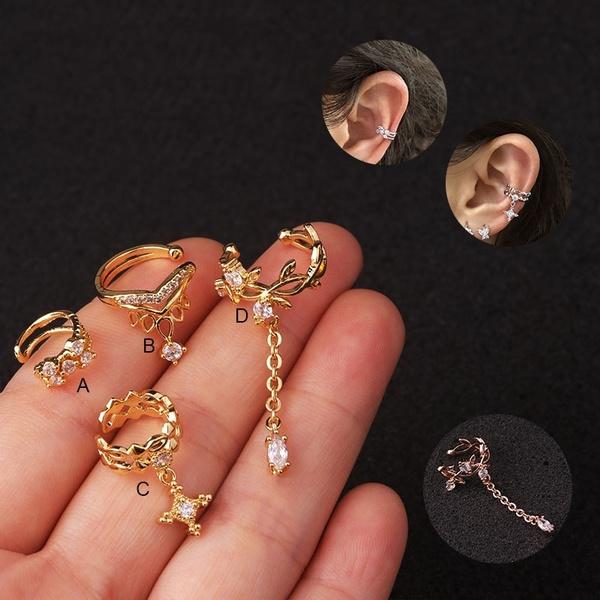 helixcartilage, Earring Cuff, Ear Cuff, conchearring